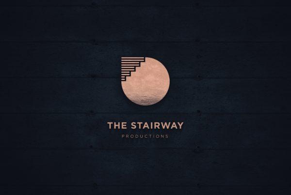 Logo design, photorealistic shape for cinema production