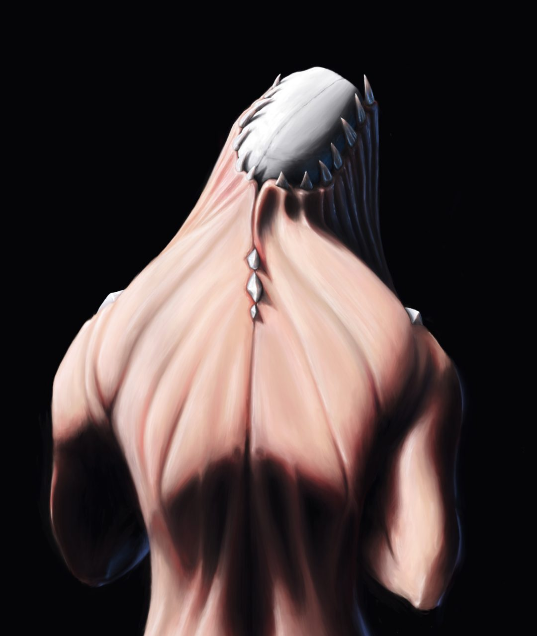 darck creature, concept art